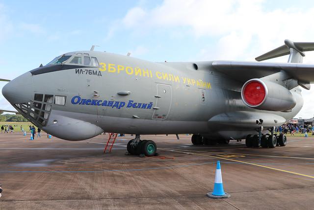 76683  -  Illushin IL-76MD  -  Ukraine Air Force  -  RIAT 2019 20/7/19