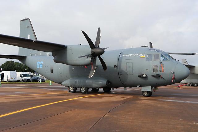 06 Blue  -  Alenia C-27J Spartan  -  Lithuanian Air Force  -  RIAT 2019 20/7/19