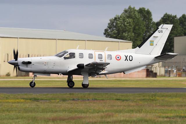 125/XO  -  SOCATA TBM700  -  French Navy  -  RIAT 2019 20/7/19