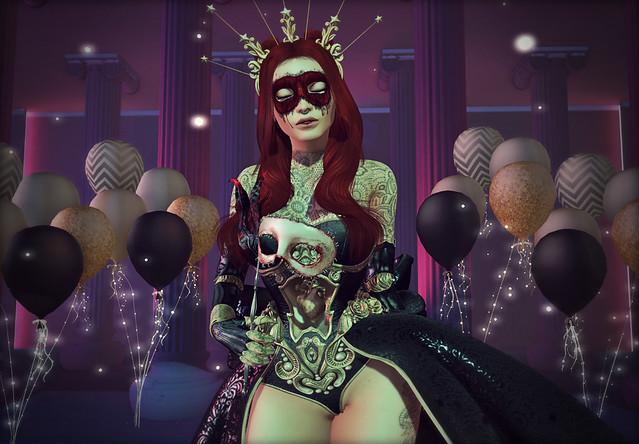 A Bloody Masquerade for Pygmalion's Bride