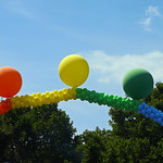 Rainow Balloons at Nollendorf Platz, Berlin