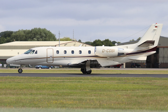 D-COBI  -  Cessna 560 Citation Excel  -  Private  -  RIAT 2019 20/7/19