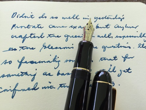 Pilot Custom 74 broad nib