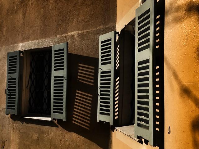 green shutters
