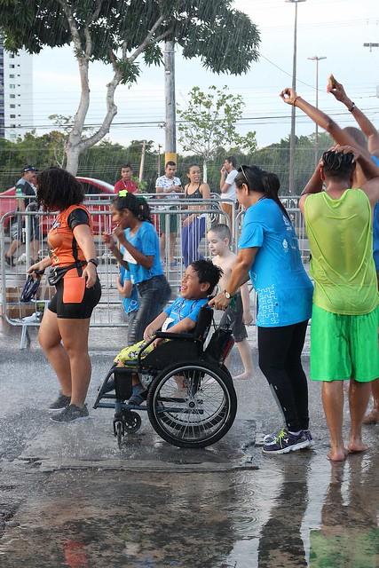 20.07.19 Corrida Azul Abrace uma pessoa com deficiência