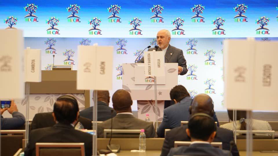 Ministro de Relaciones Exteriores de Irán: MNOAL debe enfrentar y rechazar política unilateral extremista de Estados Unidos