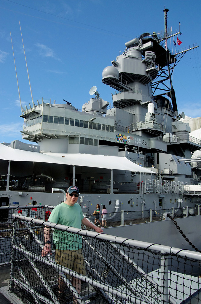 Smile, Son..........USS Missouri