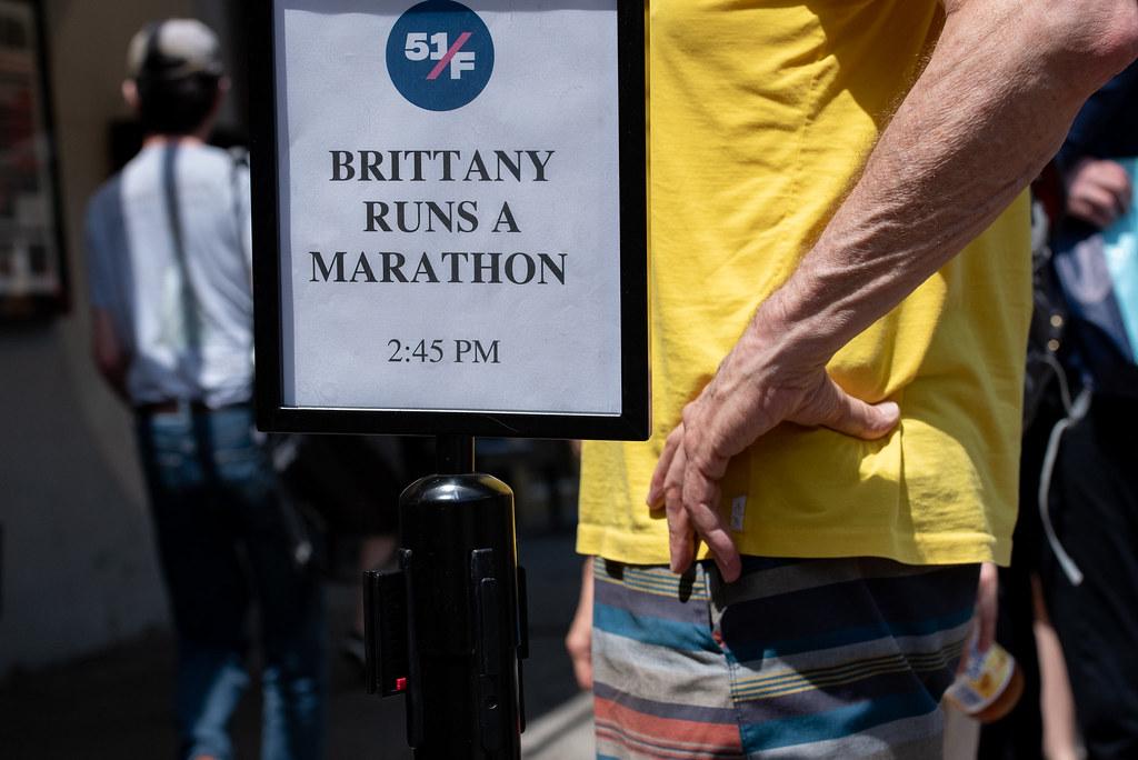 2019 - BRITTANY RUNS A MARATHON