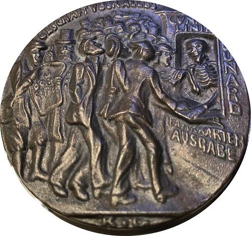 Goetz Lusitania medal obverse