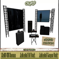 crate sOUNd station for FeverFete!
