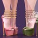 "Phedora. for FaMESHed X - ""Linda"" heels ♥"