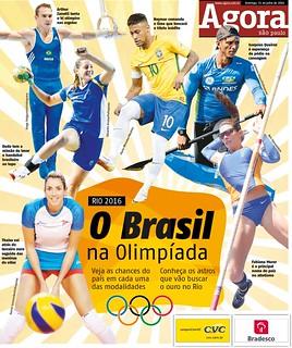 Olimpíadas 2016 - Capa
