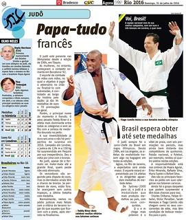 Caderno Olimpíadas Rio 2016