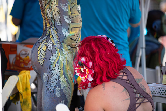 NYC Bodypainting Day 2019