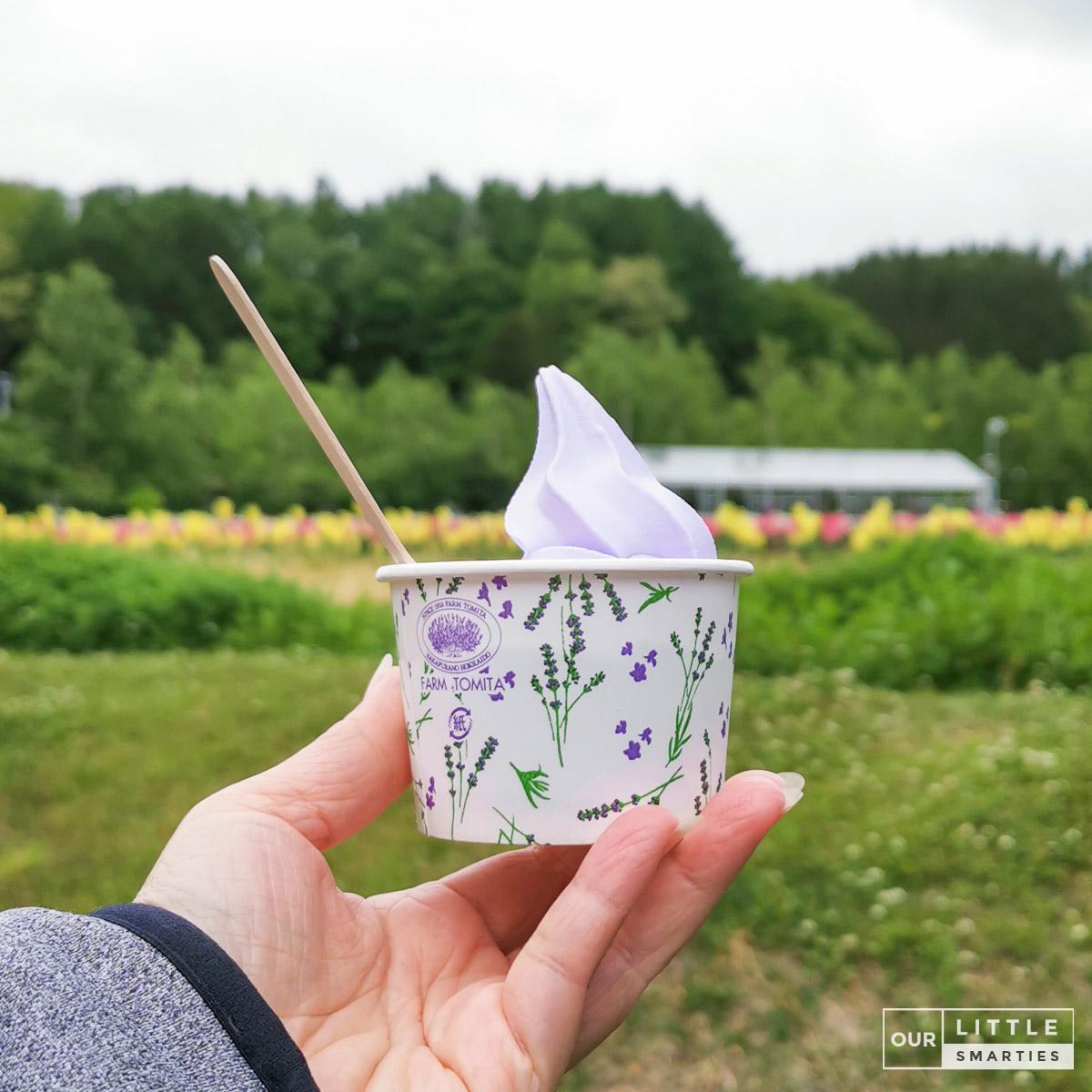 Farm Tomita Lavender Ice-Cream