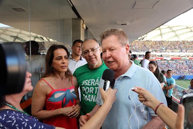20.07.2019 Arena da Amazônia, Manaus goleia Caxias-RS, ascende à Série C.