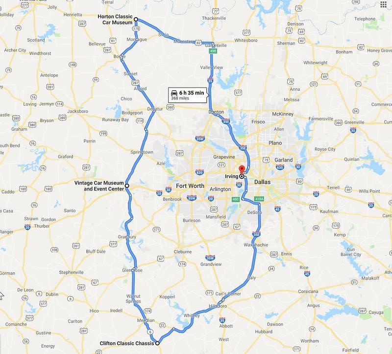 North Texas car musum tour 2109