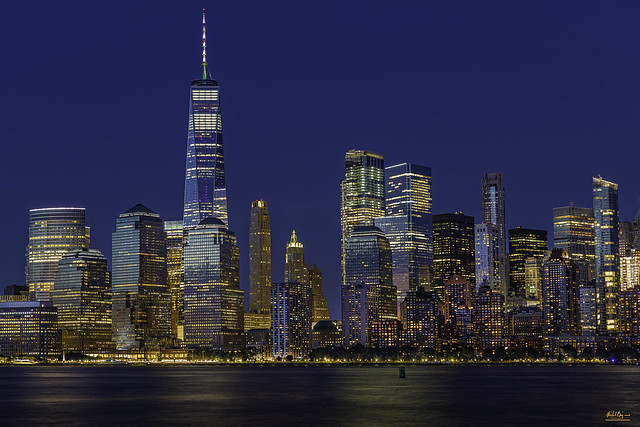 Lower Manhattan at the Blue Hour