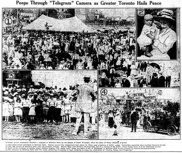 tely 1919-07-21 how toronto celebrated
