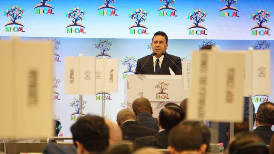 Embajador Samuel Moncada ofrece balance de la gestión presidencial de Venezuela en el Mnoal