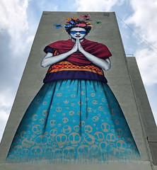 Frida Kahlo by Fin Dac