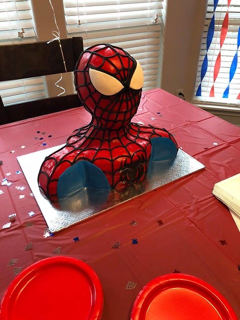 Spiderman Cake by Sweet Cakes