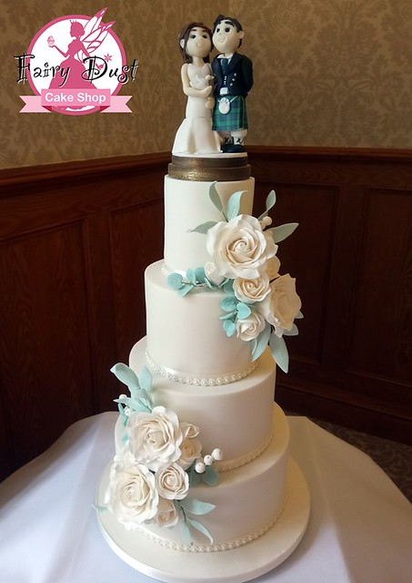 Wedding Cake by Fairy Dust Cake Shop