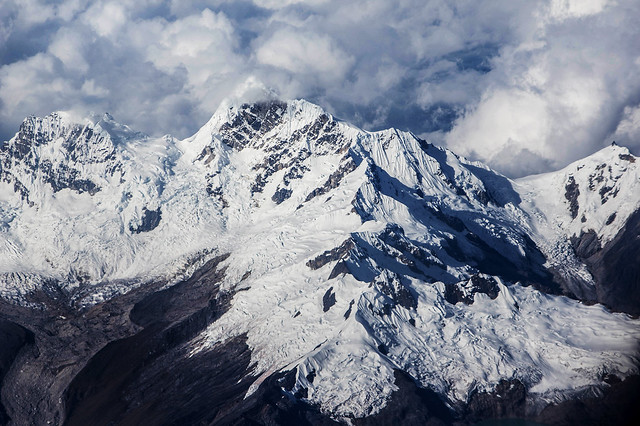 Andean mountain peak
