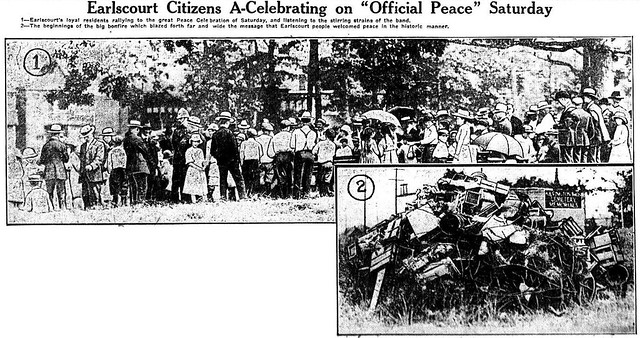 tely 1919-07-21 celebrations in earlscourt and withrow park
