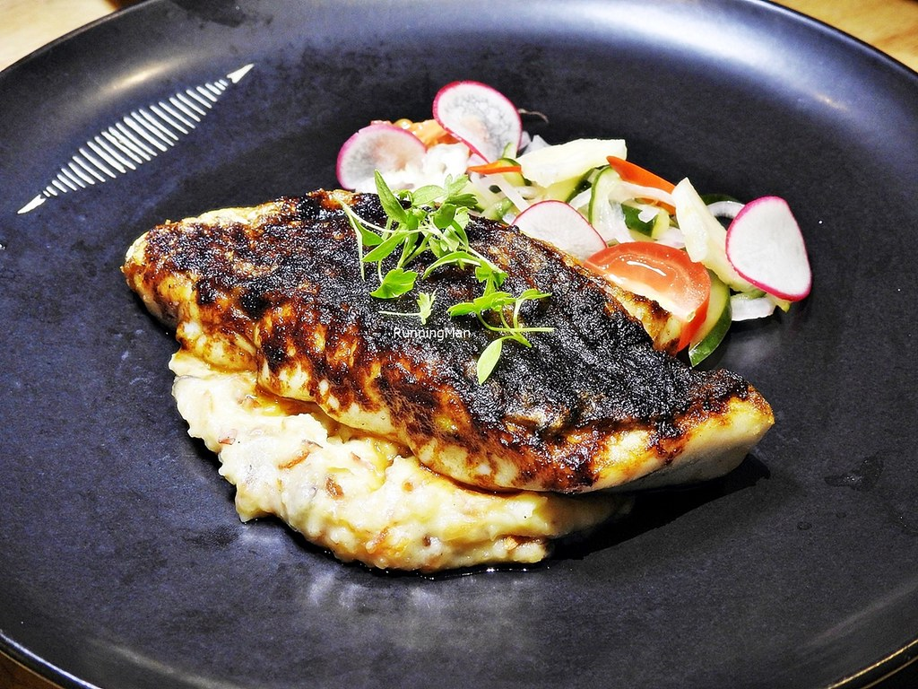 Fresh Local Sea Bass, Grilled
