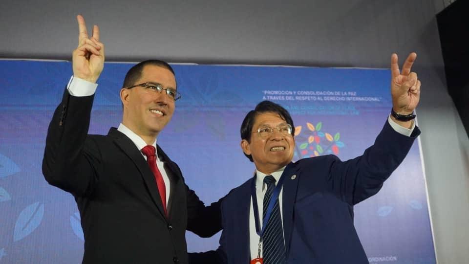Ministro de Relaciones Exteriores de Nicaragua exhorta a consolidar la paz y fomentar el respeto al derecho internacional