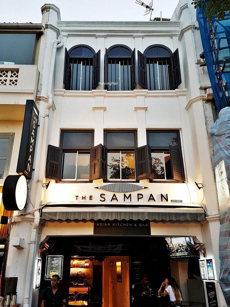 The Sampan Facade