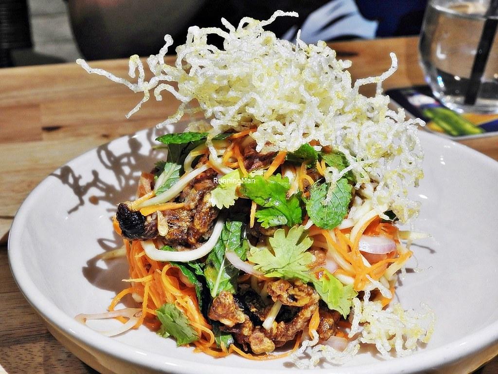 Crispy Thai Beef Salad