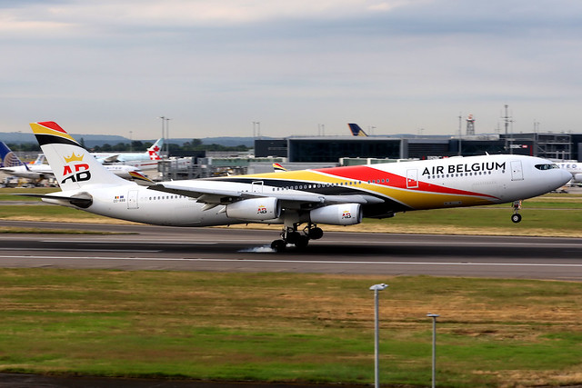 Air Belgium | Airbus A340-300 | OO-ABB | London Heathrow