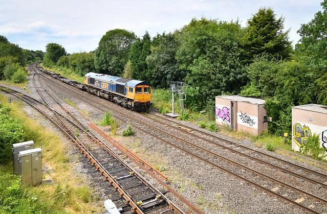 66776 at Hatton North Junction