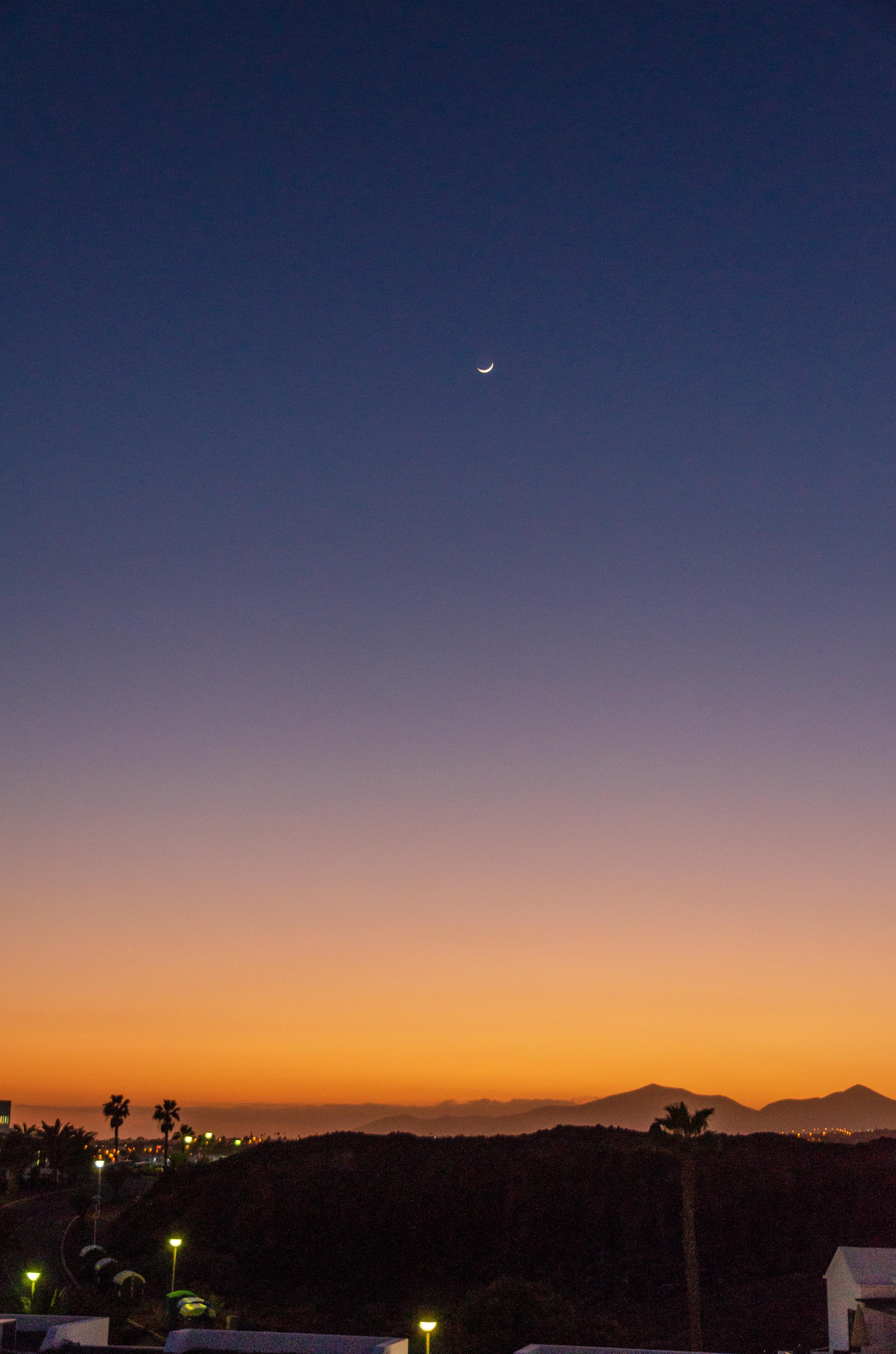 Coucher de soleil à Lanzarote