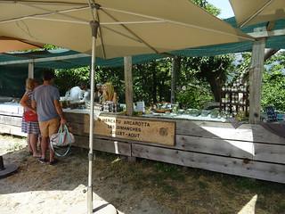 Sunday market at Col d'Arcarotta