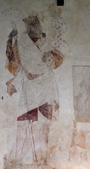 wall painting: St Christopher