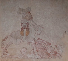 wall painting: St George