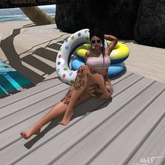 Jess Pose Beach 2 **