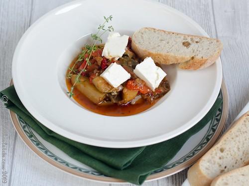 Jahresrückblick #Foodblogbilanz2019: Briam - Tourlou - griechisches Schmorgericht aus dem Slowcooker (1)