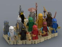 Skylor Ninjago LEGO® Minifigs 70651 njo477