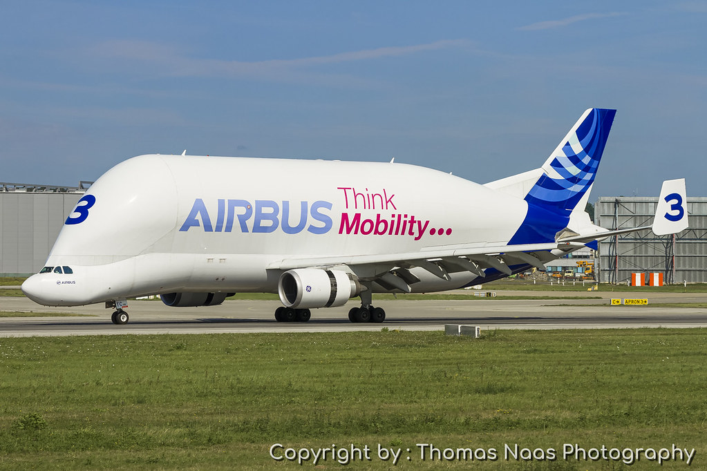 Airbus Transport International, F-GSTC : Think Mobility...
