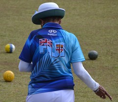 Fiji beat Norfolk in the women's competition