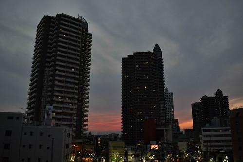 paisaje landscape sunset atardecer 日本 japan 所沢市 埼玉県 所沢 tokorozawa saitama hdr