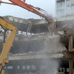 Demolition of Preston Market car park
