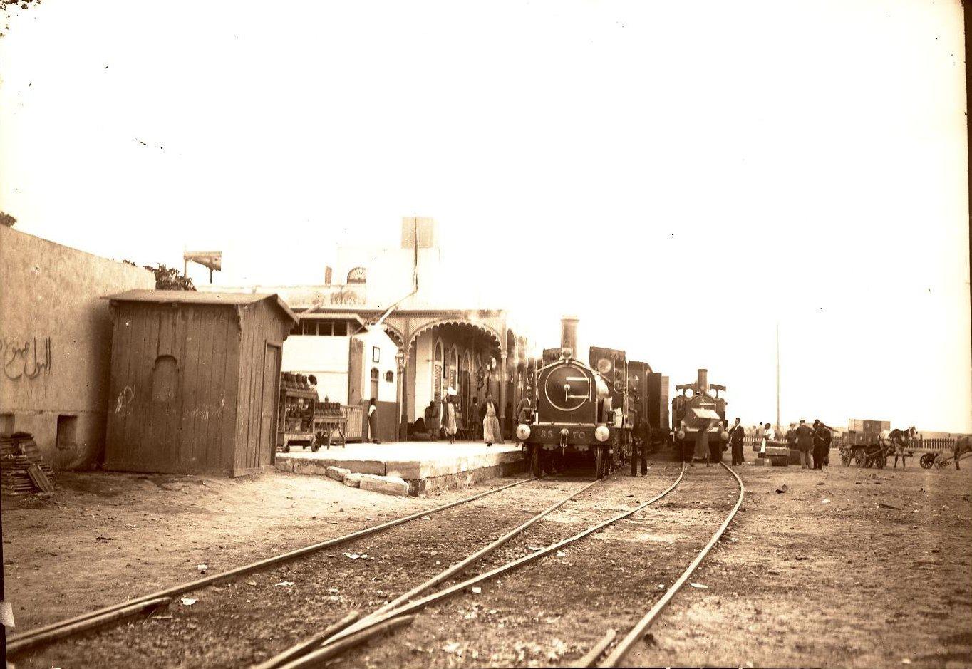 08. Измаилия. Египет. Вид на железнодорожную станцию