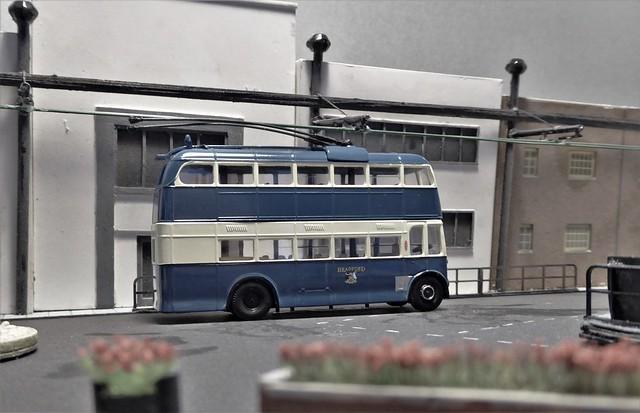 Bradford City Transport Trolleybus 803.