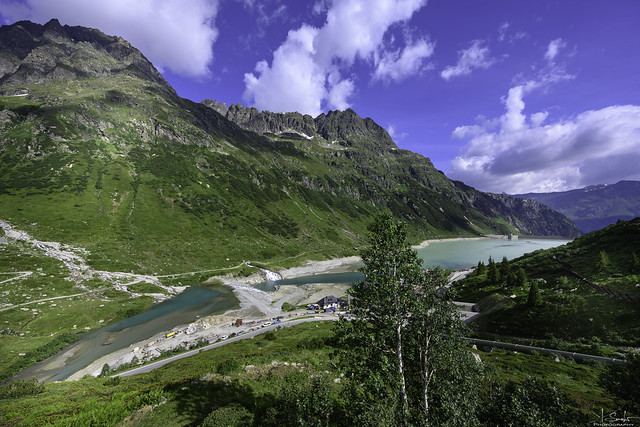 View of the Vermuntstausee - Silvretta-Hochalpenstrasse - Austria