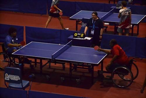 Para table tennis (wheelchair) at the Pacific Games